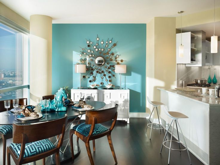 1000+ Ideas About Teal Accent Walls On Pinterest
