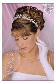 ideas wedding bangs
