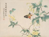 japanese butterfly painting | japanese art | Pinterest ...