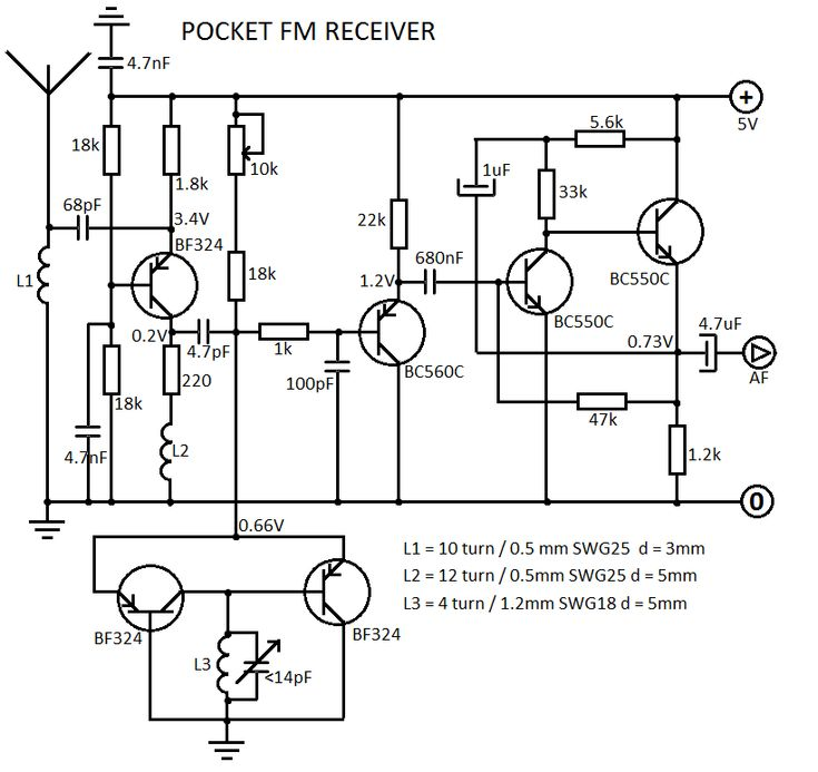 transmitter and receiver circuit diagram pdf