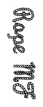 1000+ ideas about Rope Font on Pinterest
