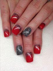 grey gel nails ideas