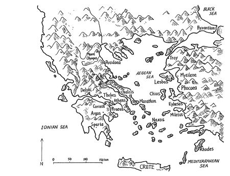 Map of ancient Greek city-states Ancient Greece