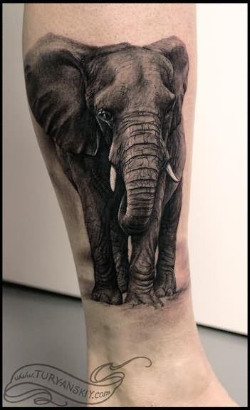 1000 elephant tattoos