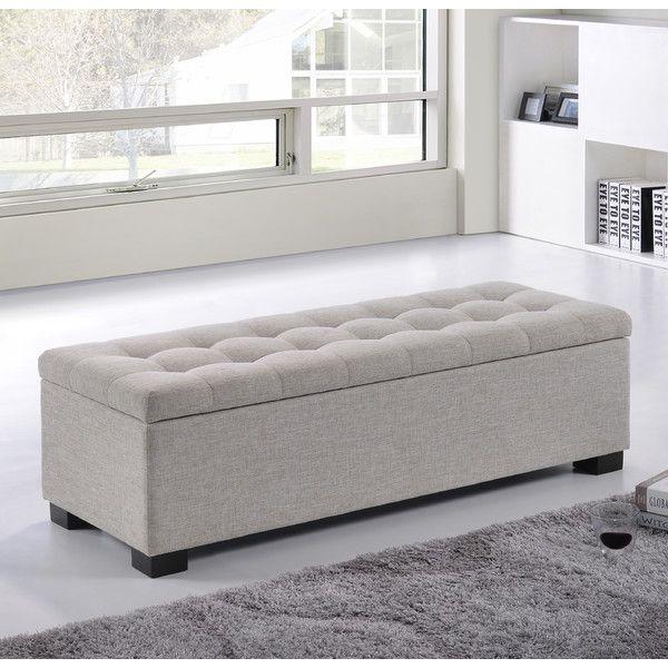 Kareem Upholstered Storage Bedroom Bench