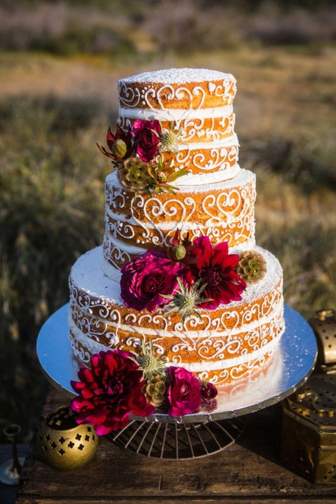 1000+ images about Cake Design | Naked Cakes on Pinterest