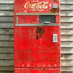 Old Fashioned Metal Lawn Chairs Straight Back Wood 61 Best Vintage Soda Machines Images On Pinterest