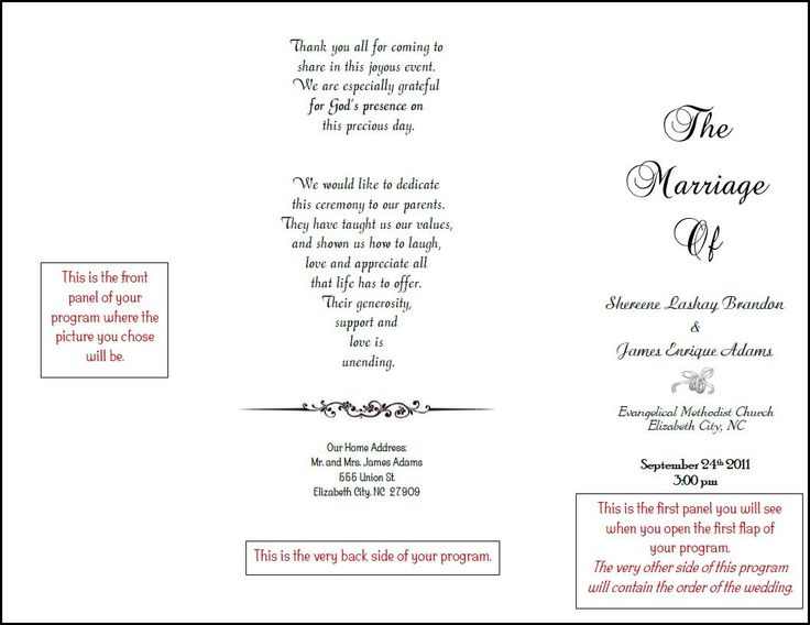 17 Best Images About Wedding Invites And Programs On Pinterest Wedding Ceremony Programs