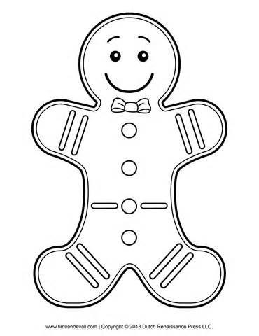 +1000 ideias sobre Gingerbread Man Coloring Page no