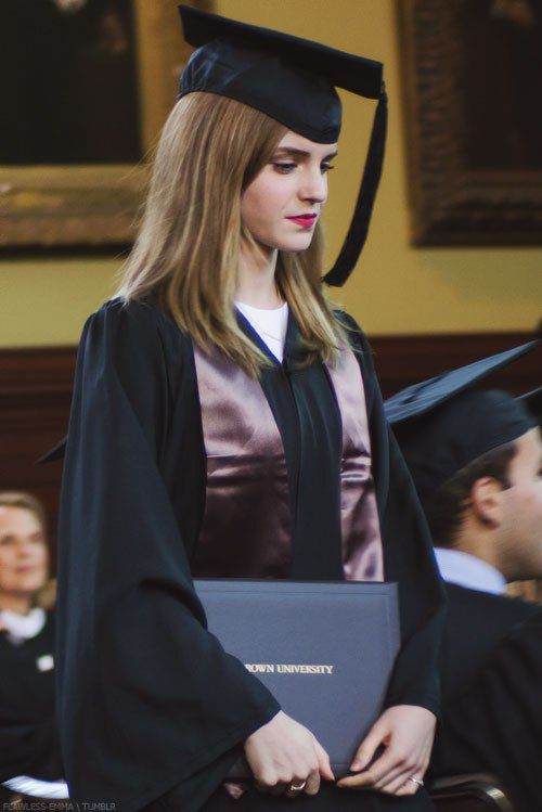 Emma officially graduates from Brown University in Providence, RI on May, 25 Congrats Emma!: