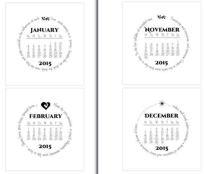 17 Best ideas about 2015 Calendar Printable on Pinterest