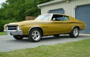 1971 Heavy Chevy Chevelle | CHEVY CHEVELLE | Pinterest