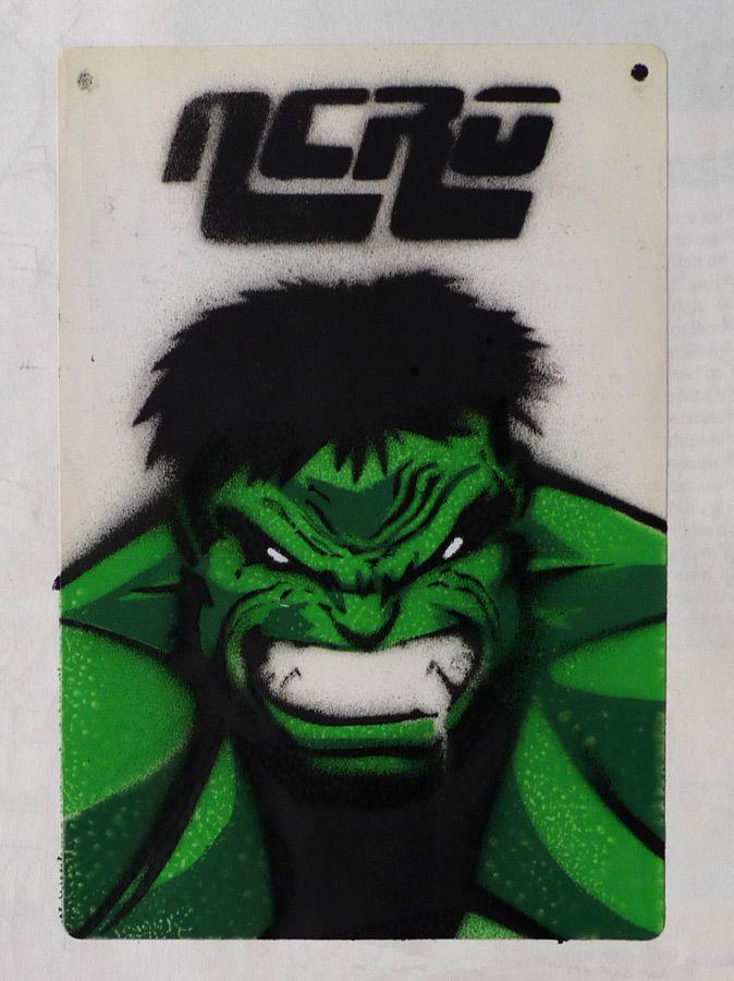 Incredible Hulk Stencil  My Work  Pinterest  Hulk