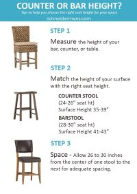 1000+ ideas about Bar Stool Height on Pinterest ...