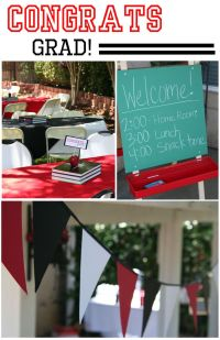 Easy Graduation Party Theme | Graduation, Chalkboards and ...