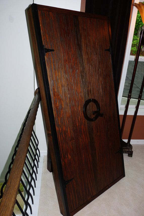 Wall Mounted Pool Cue Storage Cabinet by