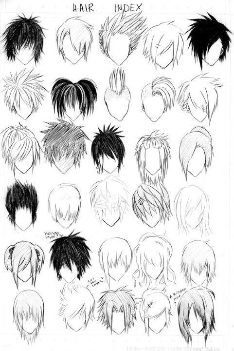 Die Besten 20 Anime Frisuren Männlich Ideen Auf Pinterest
