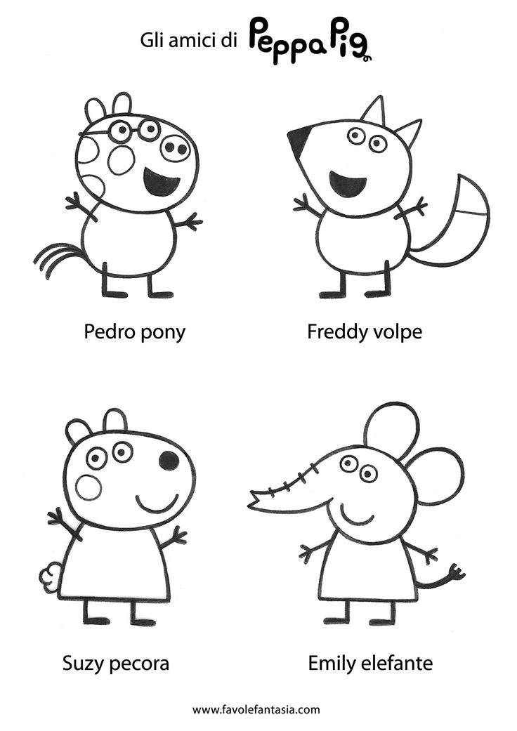 17 Best ideas about Peppa Pig Colouring on Pinterest