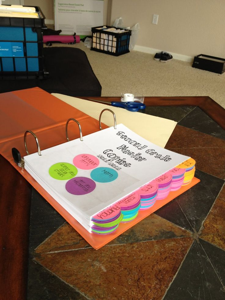 Master Copies Binder: So much easier than shoving everything in a filing cabinet