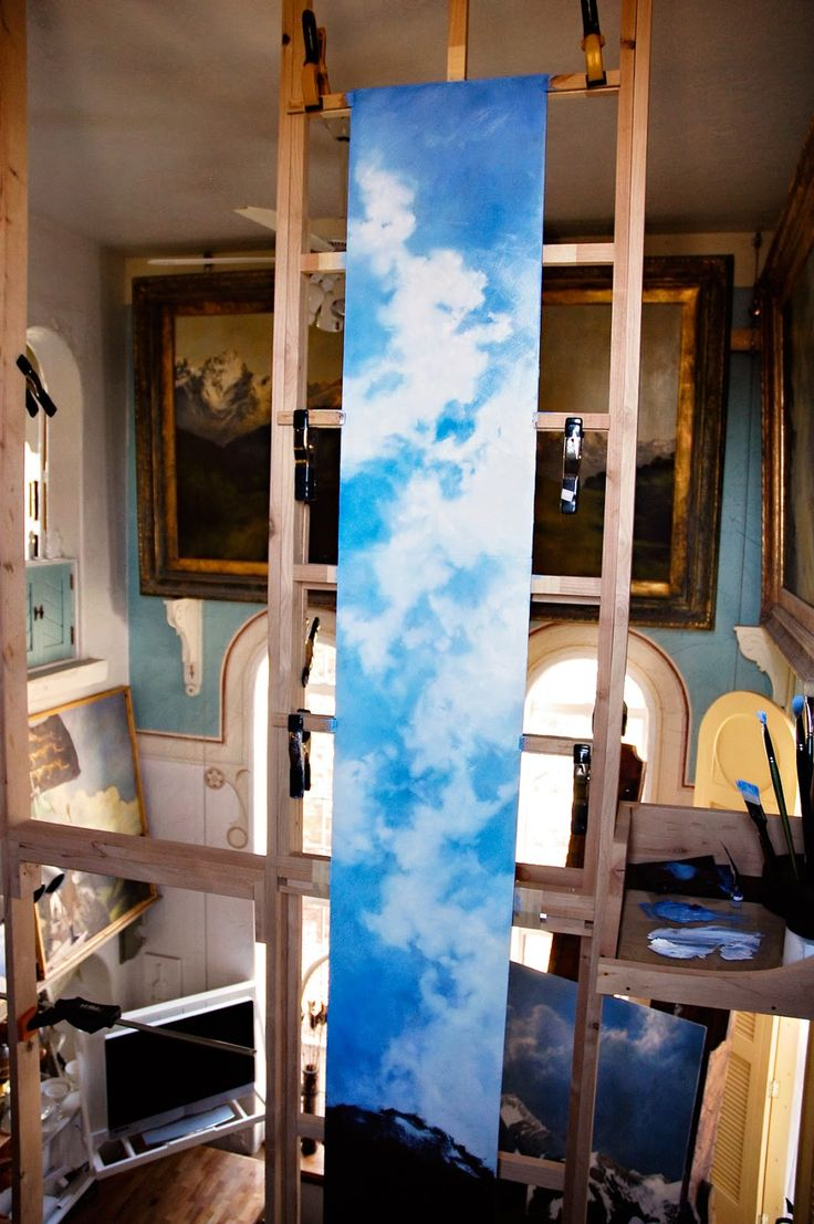 93 Best Images About Art Studio Ideas On Pinterest Diy Wall Art Easel And Studio Spaces