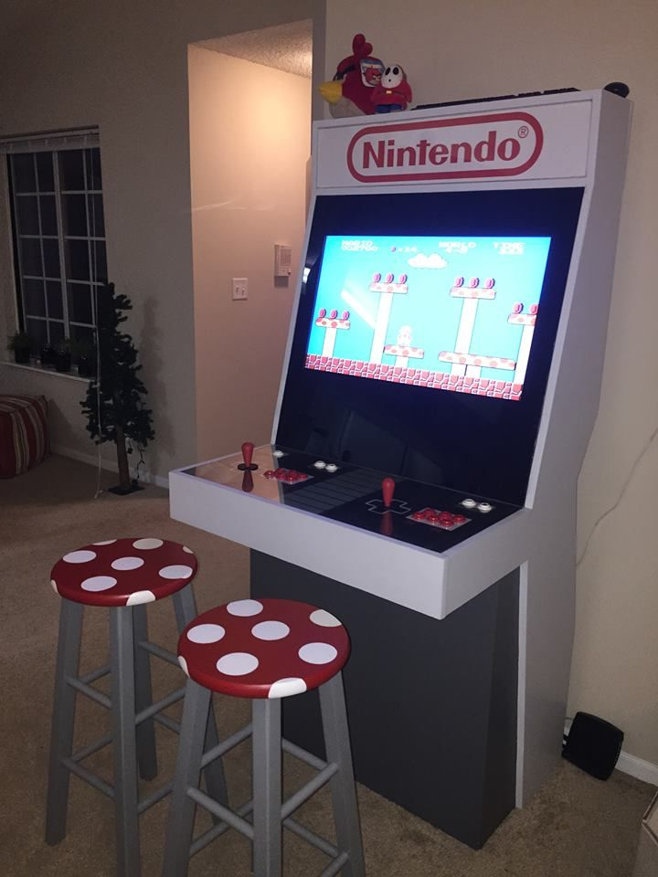 Mame Arcade Cabinet  WoodWorking Projects  Plans