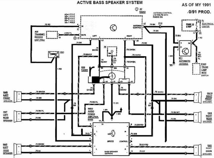 190e fuse box layout