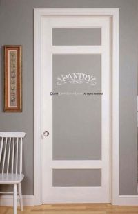 Pantry Decal for Wall or Glass Door by DarkHorseDecals on