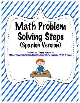 Math Word Problems 2nd Grade Spanish  2nd Grade Spanish