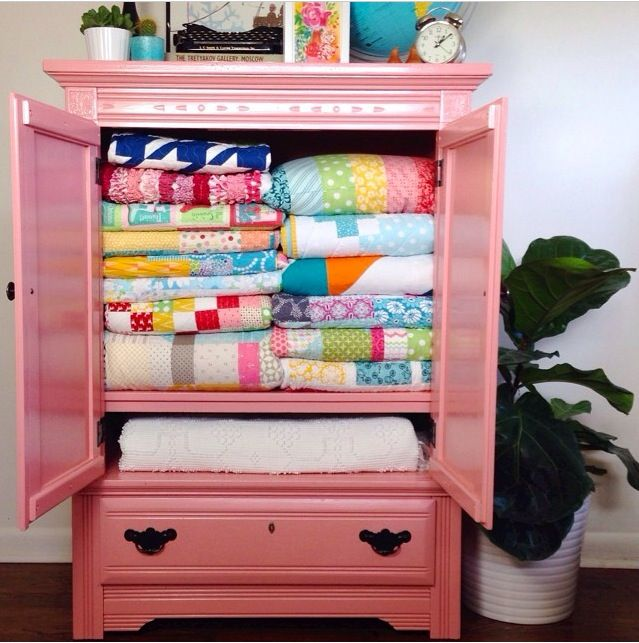 17 Best images about Quilt cupboards on Pinterest  Quilt