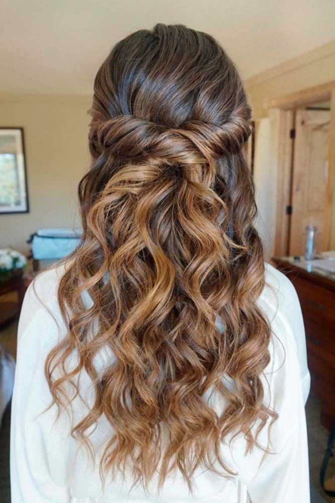 25 Best Ideas About Bridesmaids Hairstyles Down On Pinterest