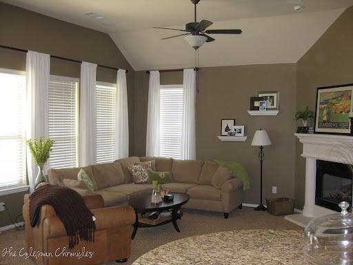 Paint Color Palettes Living Room