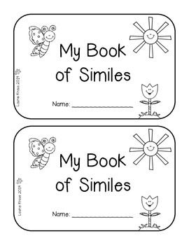 42 best images about Simile Lesson Fun on Pinterest
