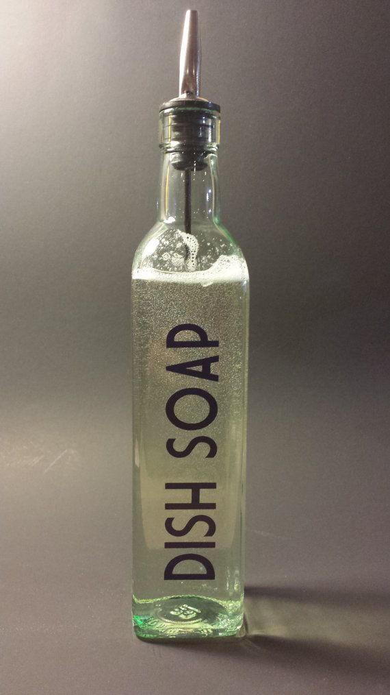 kitchen dish soap dispenser tommy bahama table liquid w/vinyl decal | dishwashing ...