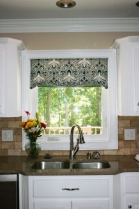 kitchen window cornice ideas | ... Kitchen Window Valances ...