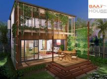 2 bedroom granny flat mezzanine level | Baahouse designs ...
