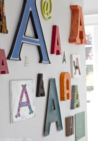 17 Best ideas about Monogram Wall Letters on Pinterest ...
