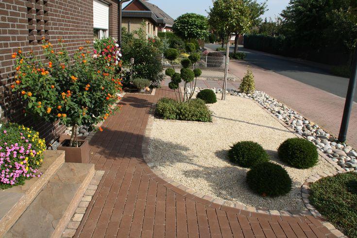 vorgarten ideen pflegeleicht – igelscout, Gartengestaltung