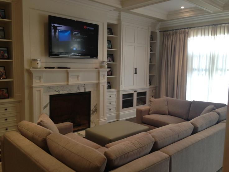 """Comfy & Cozy Family Room """"Sofa Pit"""""""