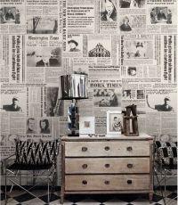 25+ best ideas about Newspaper Wallpaper on Pinterest ...