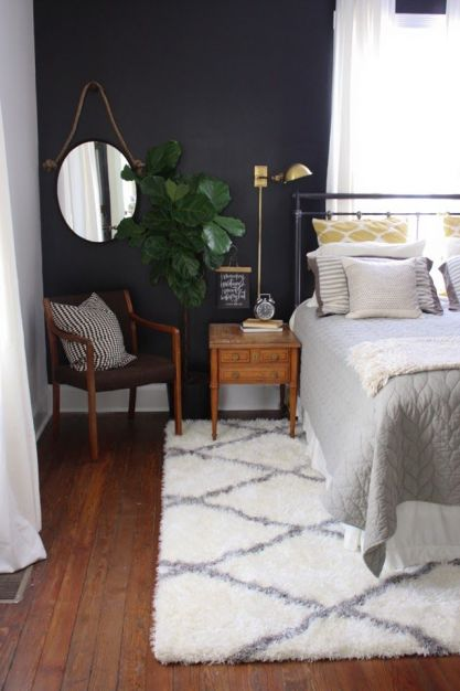 Navy with a touch of gold and gray:
