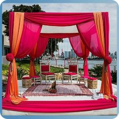 Diy Wedding Chair Covers Pinterest Folding Picnic Table Round Indian Mandap Designs - Buy Designs,fabric Backdrops For ...