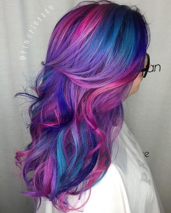 30 Pink And Blue Hair Hairstyles With Real Hair Hairstyles Ideas