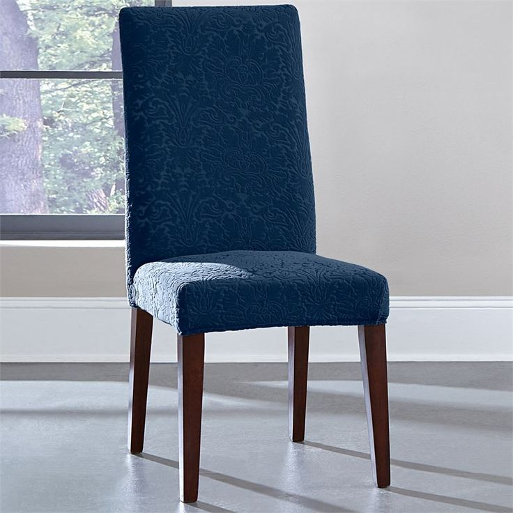 diy parsons chair covers best chairs braxton swivel glider 1000+ ideas about dining slipcovers on pinterest | slipcovers, room ...