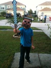 Minecraft Steve Halloween Costume | Victor Picks ...