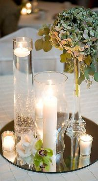 25+ Best Ideas about Mirror Wedding Centerpieces on ...