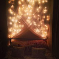 17 Best ideas about Bed Canopy With Lights on Pinterest ...