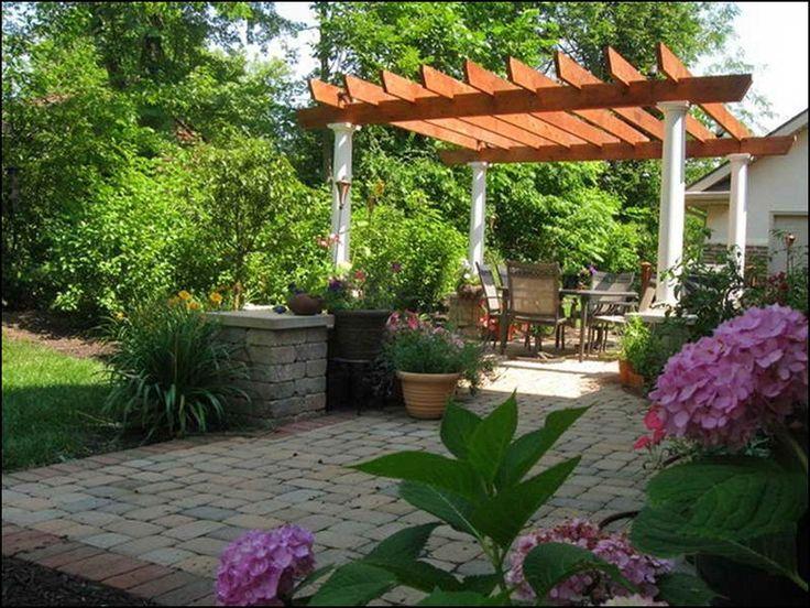 small florida backyards  Simple Backyard Patio Designs