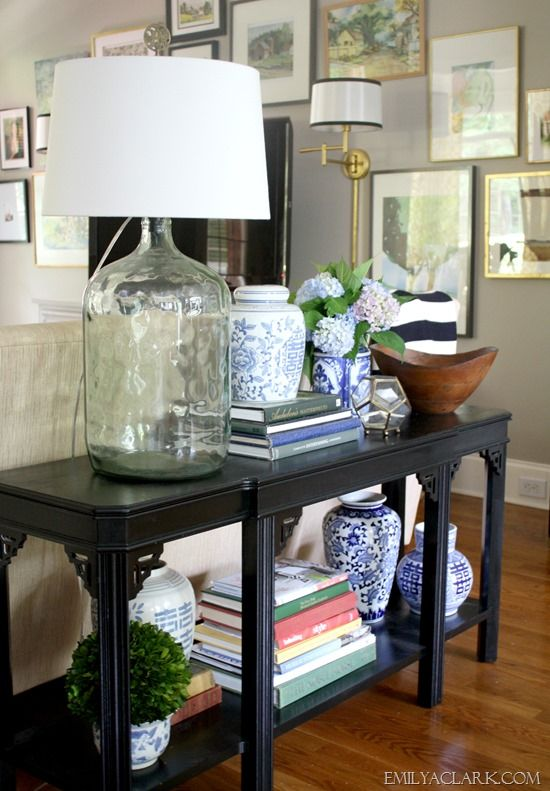 25 best ideas about Sofa Table Styling on Pinterest  Entryway table decorations Entry table