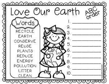 223 best images about SLP Earth Day Freebies on Pinterest