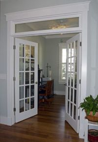 This opening is identicle between living room and dining ...